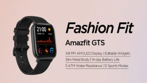 Amazfit GTS Fitness Smartwatch review