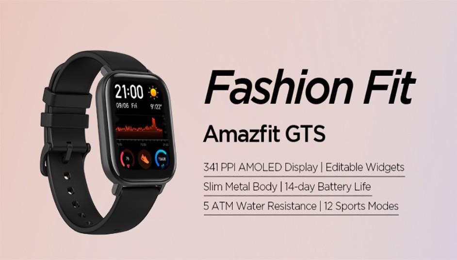 Amazfit GTS Fitness Smartwatch review