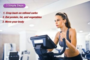 How to Lose Weight Fast you can follow 3 Simple Steps